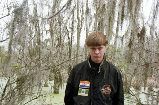 South Carolina church massacre shooting suspect Dylann Roof is seen in U.S. District Court of South Carolina evidence photo which was originally taken from Roof's website. Courtesy U.S. District Court of South Carolina