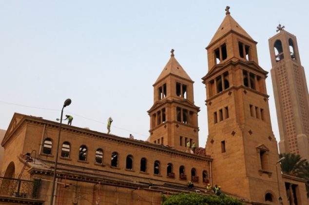 Egypt work on restoration of Cathedral
