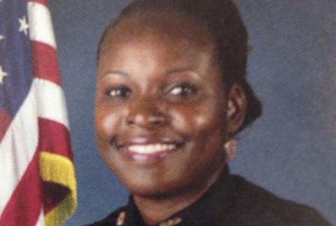 Police Officer Master Sgt. Debra Clayton