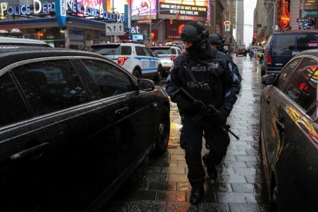 NYPD Couterterrorism unit