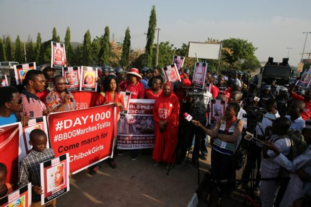 police disrupt Bring Back Our Girls rally in Nigeria