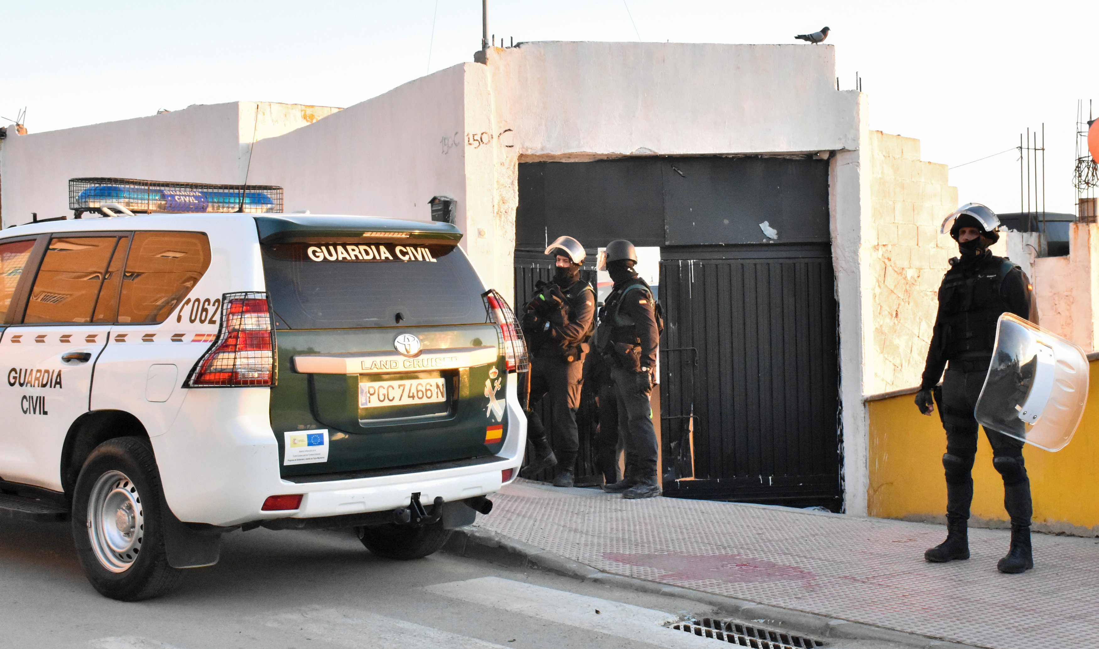 Spanish civil guards