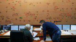 Dispatchers at Ukraine's national power company