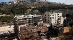 Israeli settlements being built