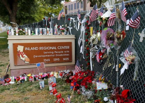 Memorial for San Bernardino victims