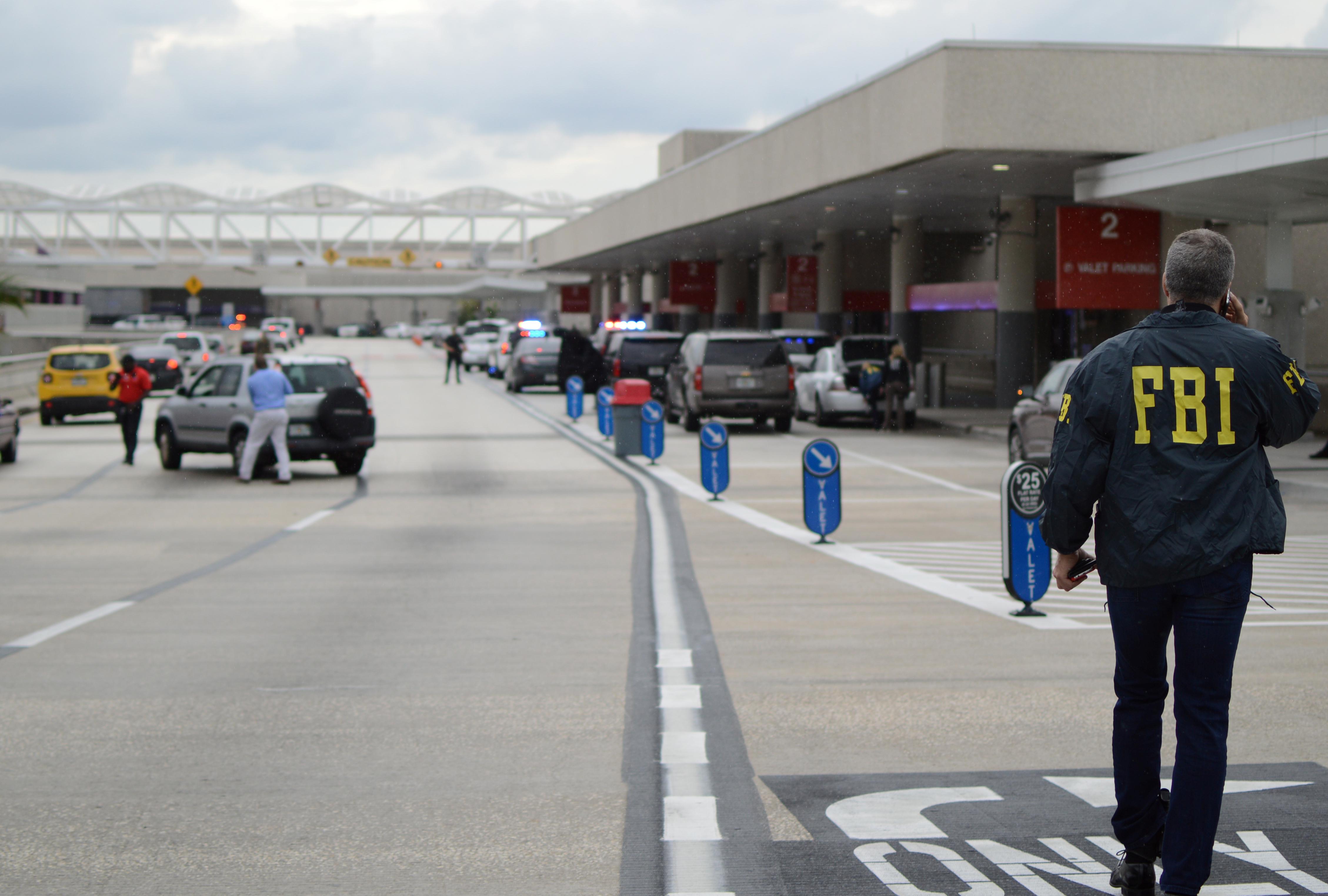law enforcement walk at ft. lauderdale airport