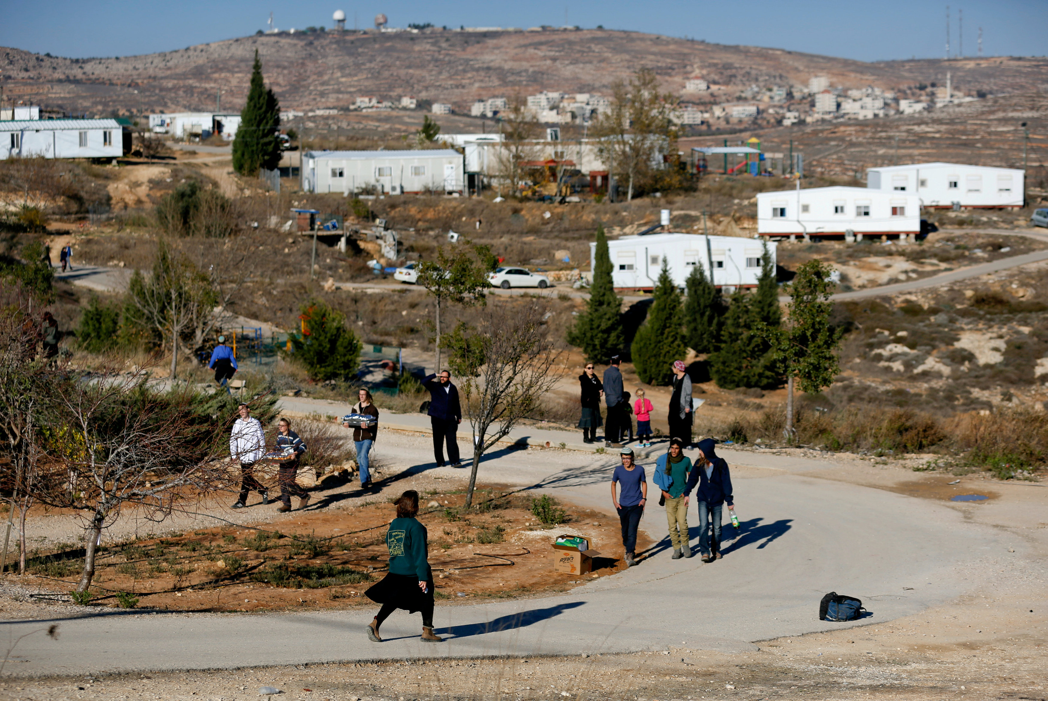 Jewish settlers preparing for eviction