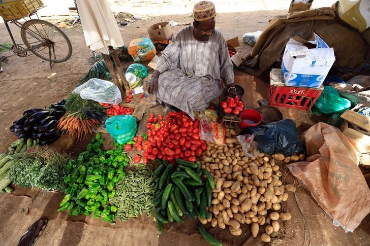 street vendor in Sudan