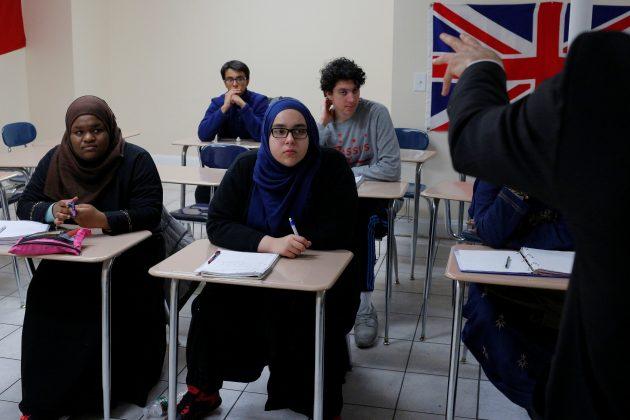 muslim school teaching kids political activism