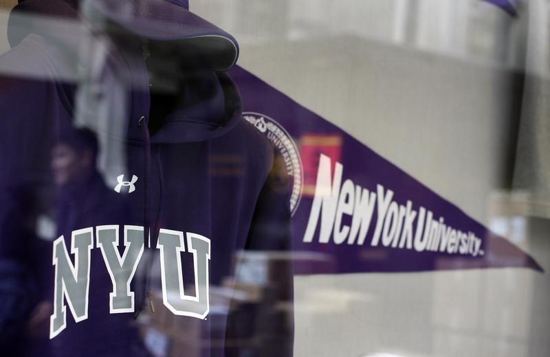 NYU sweatshirt
