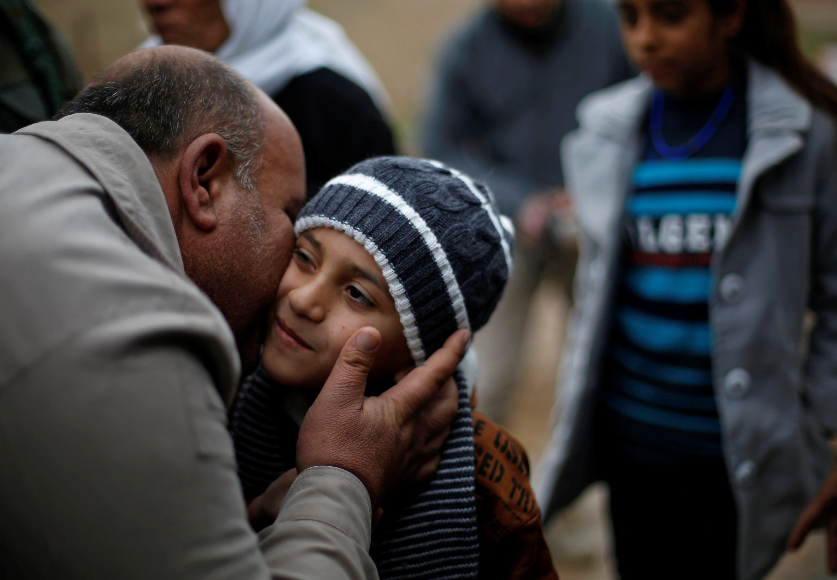 boy returned to yazidi family in Iraq