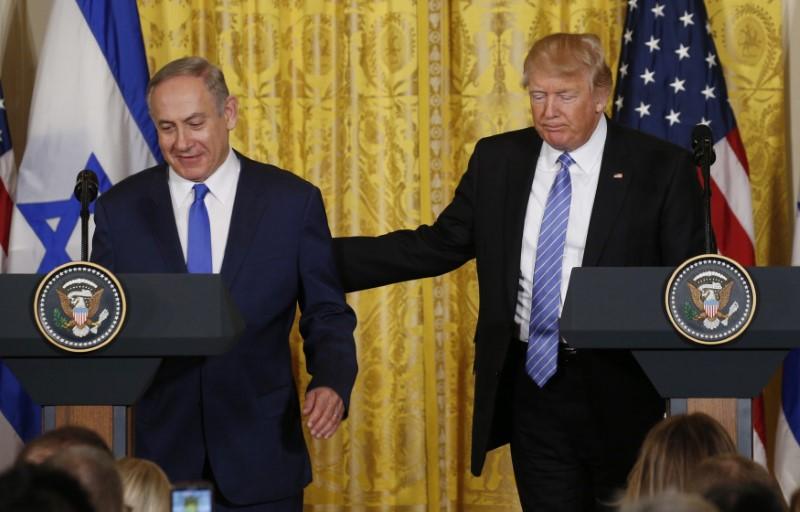 Donald Trump and Benjamin Netayahu
