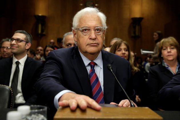 David Friedman possible U.S. ambassador for Israel heckled in Senate