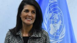 US Ambassador to United Nations Nikki Haley