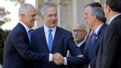Israel and Australia leaders are allies