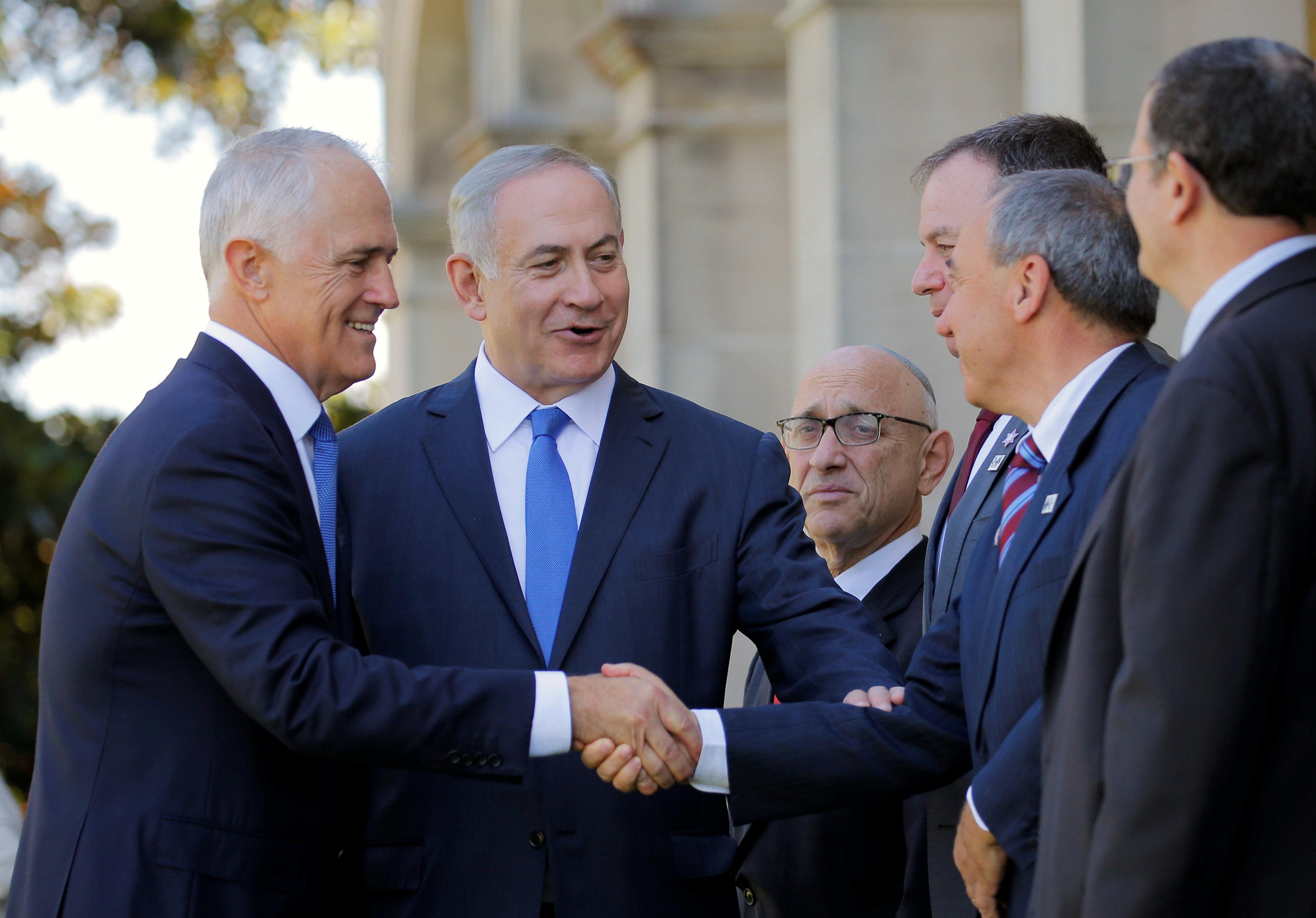 Israel and Australia leaders are allies