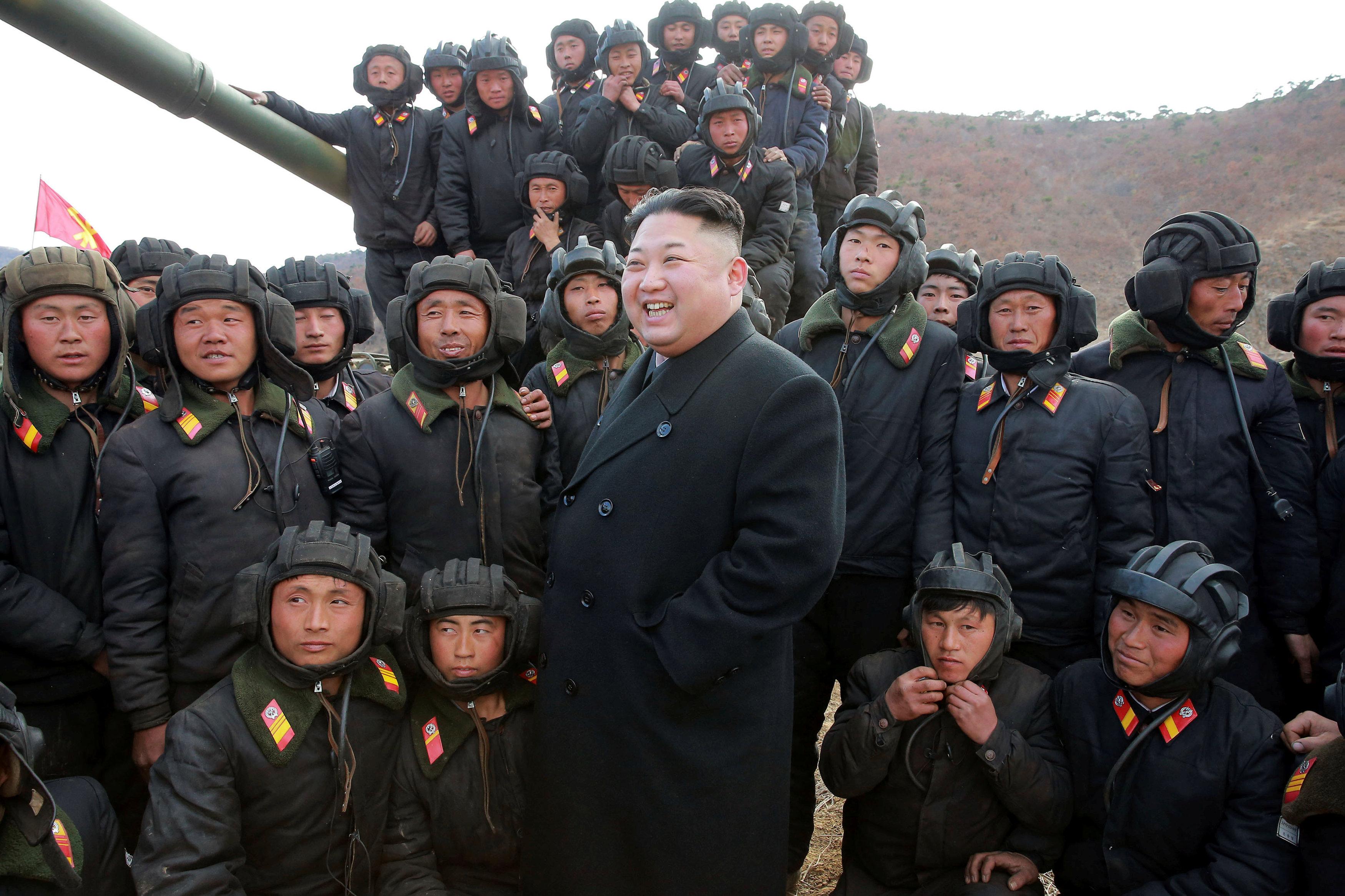 North Korean Leader Kim Jong Un. KCNA/via REUTERS