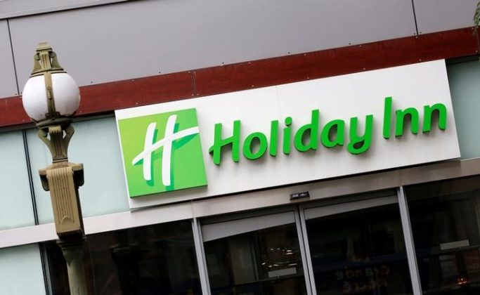 The Logo of a Holiday Inn Hotel is pictured in Paris, France, August 8, 2016. REUTERS/Jacky Naegelen