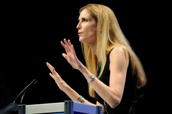Ann Coulter speaks to the Conservative Political Action conference in Washington. REUTERS/Jonathan Ernst