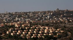 The West Bank Jewish settlement of Ofra is photographed as seen from the Jewish settler outpost of Amona in the occupied West Bank, October 20, 2016. REUTERS/Ronen Zvulun/File Photo