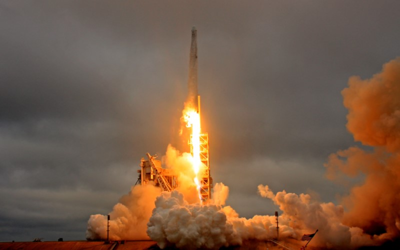 SpaceX rocket lifts off on first launch for U.S. military