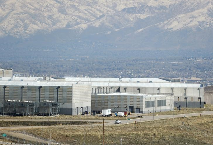 A security car patrols the National Security Agency (NSA) data center in Bluffdale, Utah, U.S., March 24, 2017. REUTERS/George Frey