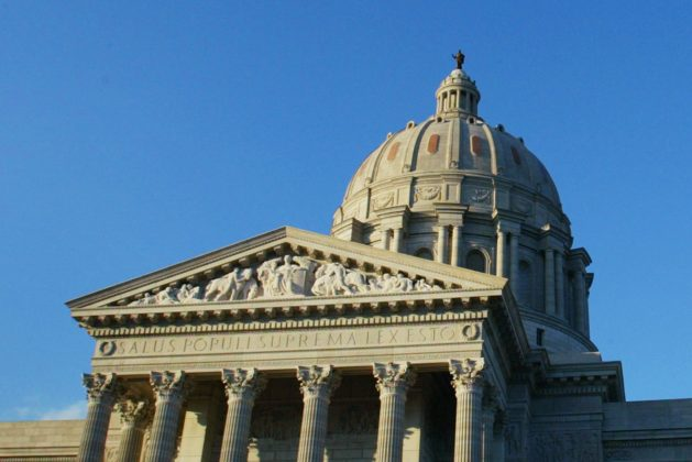 The Missouri State House is pictured in Jefferson City, Missouri, U.S