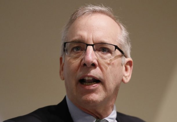 William C. Dudley, President and Chief Executive Officer of the Federal Reserve Bank of New York speaks during a panel discussion at The Bank of England in London,