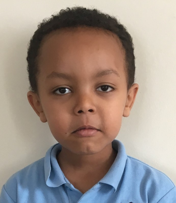 Five-year-old Isaac Paulous, who died in the Grenfell Tower fire, is seen in this undated photograph received via the Metropolitan Police, in London, Britain June 27, 2017. Metropolitan Police/Handout/Via REUTERS