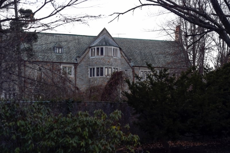 Killenworth, an estate built in 1913 for George du Pont Pratt and purchased by the former Soviet Union in the 1950's, is seen in Glen Cove, Long Island, New York, U.S., on December 30, 2016. REUTERS/Rashid Umar Abbasi