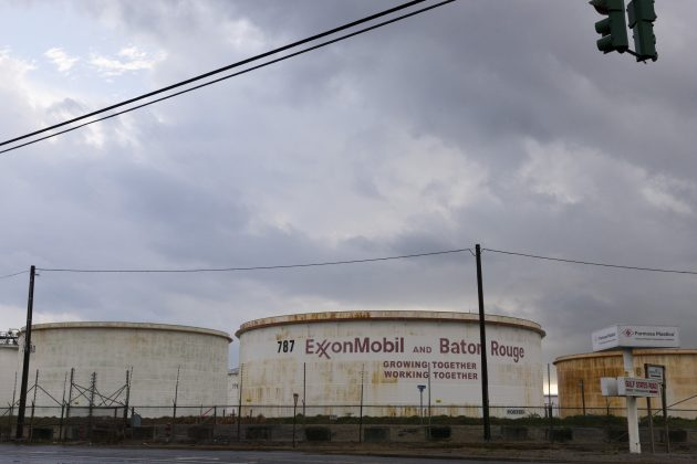 FILE PHOTO: Storage tanks are seen inside the Exxonmobil Baton Rouge Refinery in Baton Rouge, Louisiana, U.S. on November 6, 2015. REUTERS/Lee Celano/File Photo