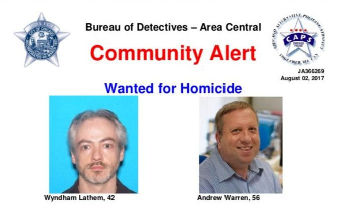 College professor, second man sought in fatal Chicago stabbing