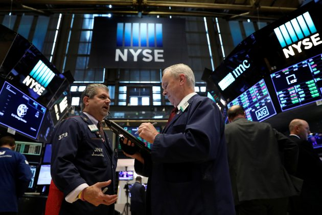 Wall Street opens flat as North Korea tensions fade