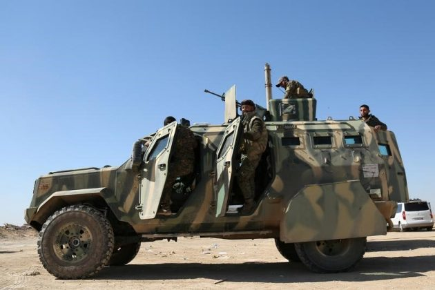 syrian army comes closer to encircling islamic state in central