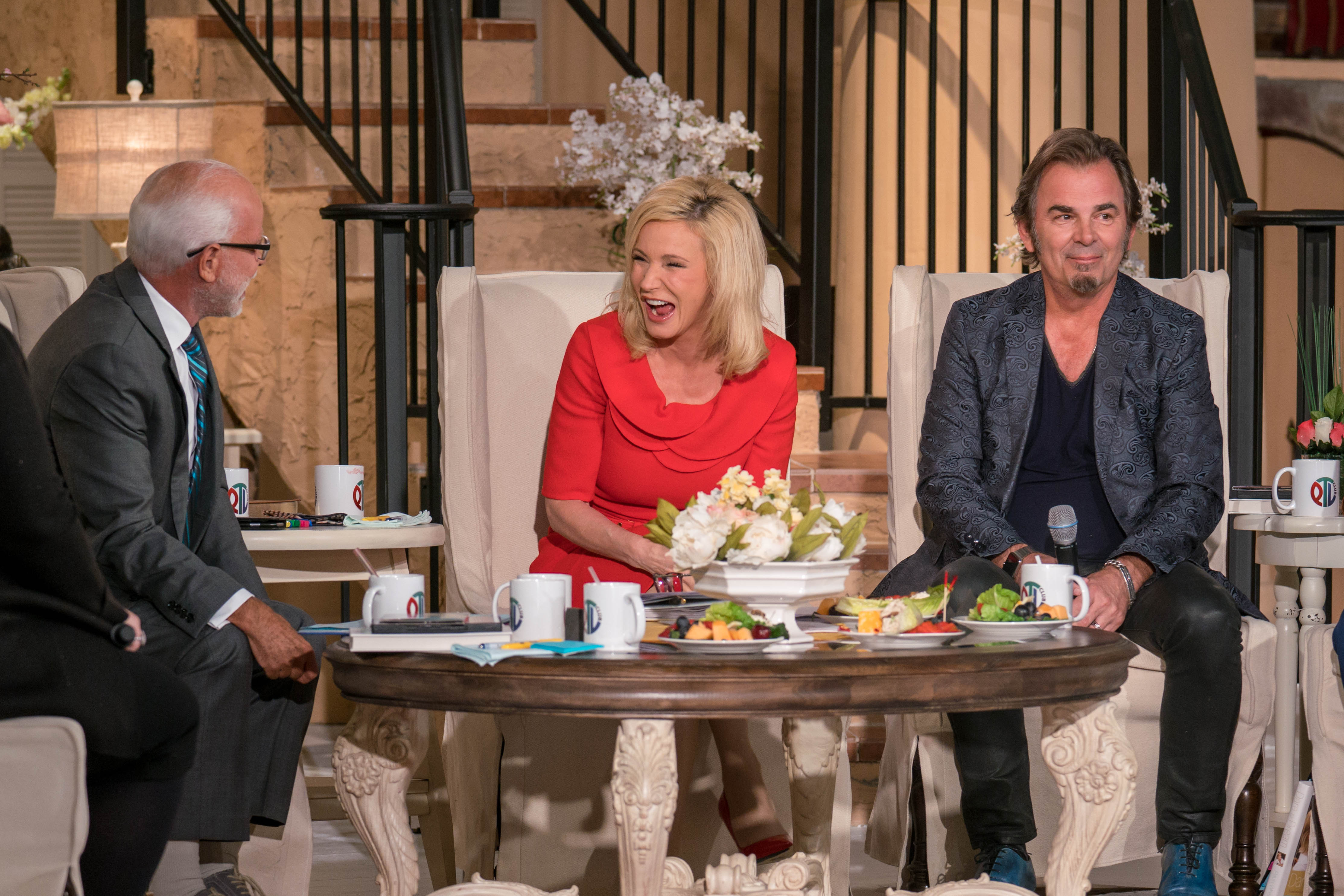 Paula White-Cain and Jonathan Cain on the Jim Bakker Show
