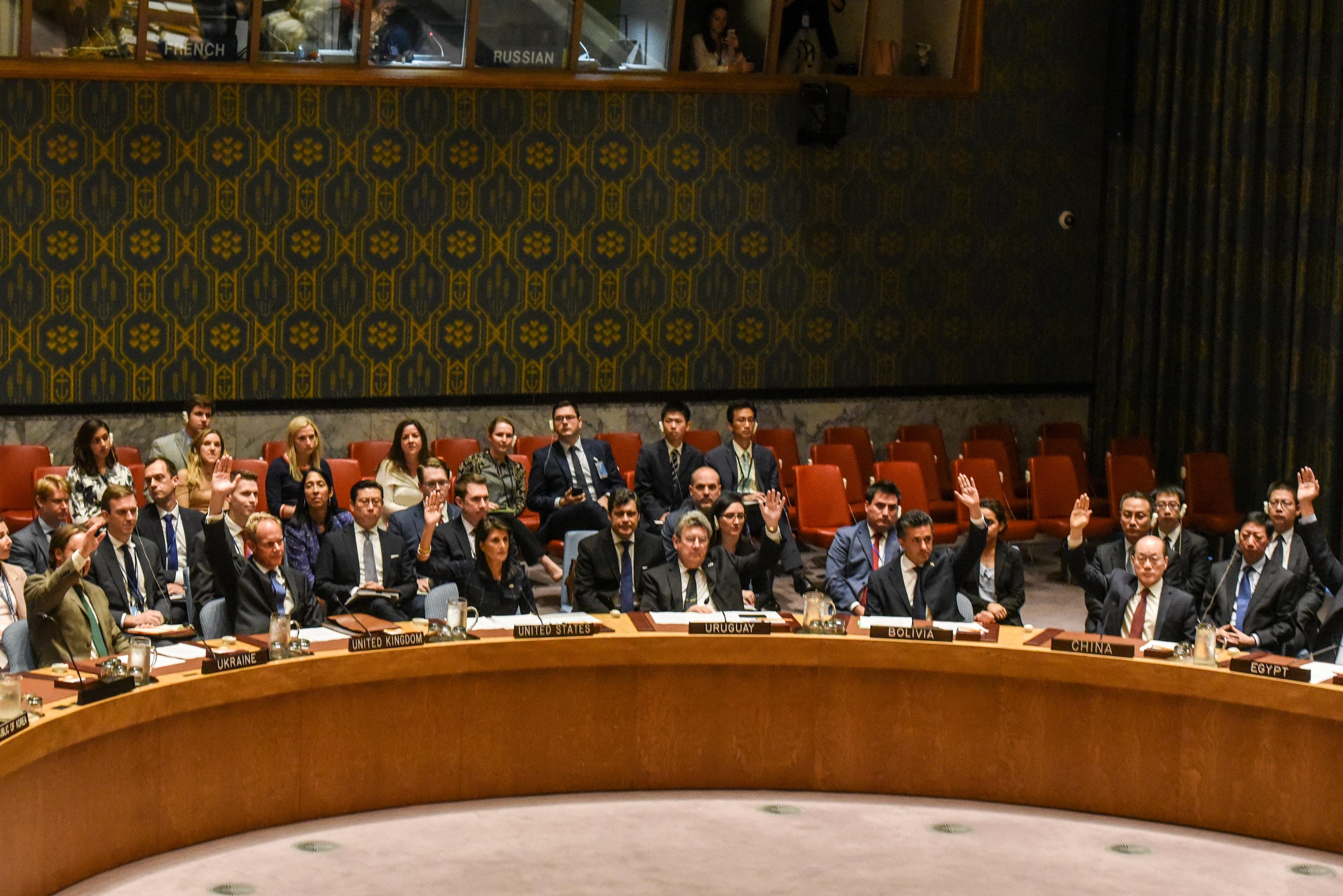 U.N. Security Council steps up sanctions on defiant North Korea