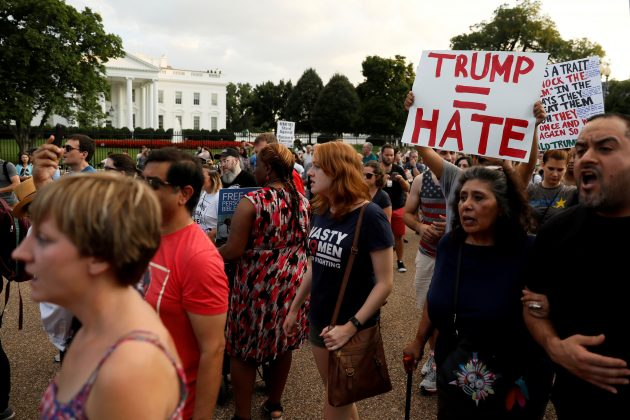 Congress votes to call on Trump to denounce hate groups