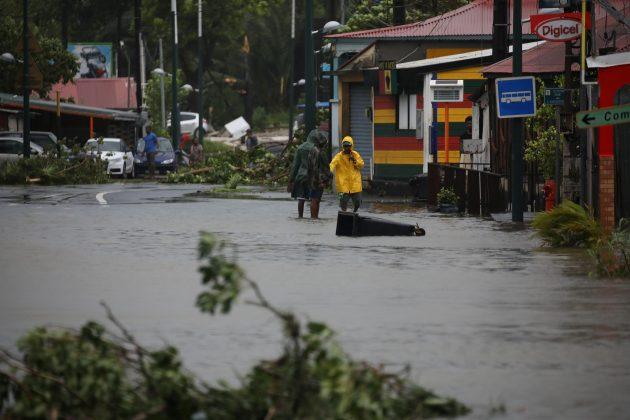 Powerful Hurricane Maria makes landfall on Puerto Rico