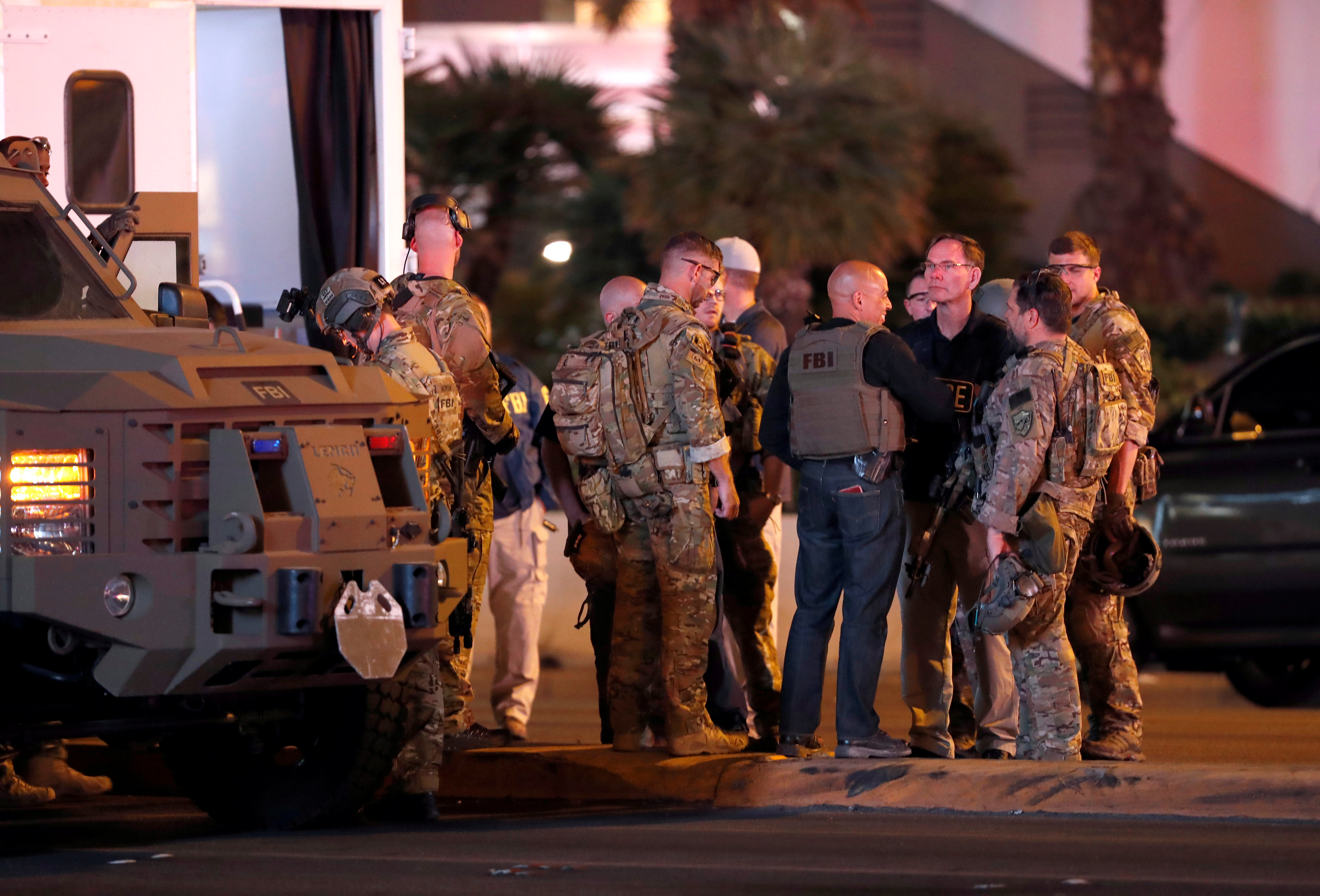 Las Vegas police look for motive in deadliest mass shooting in modern U.S. history