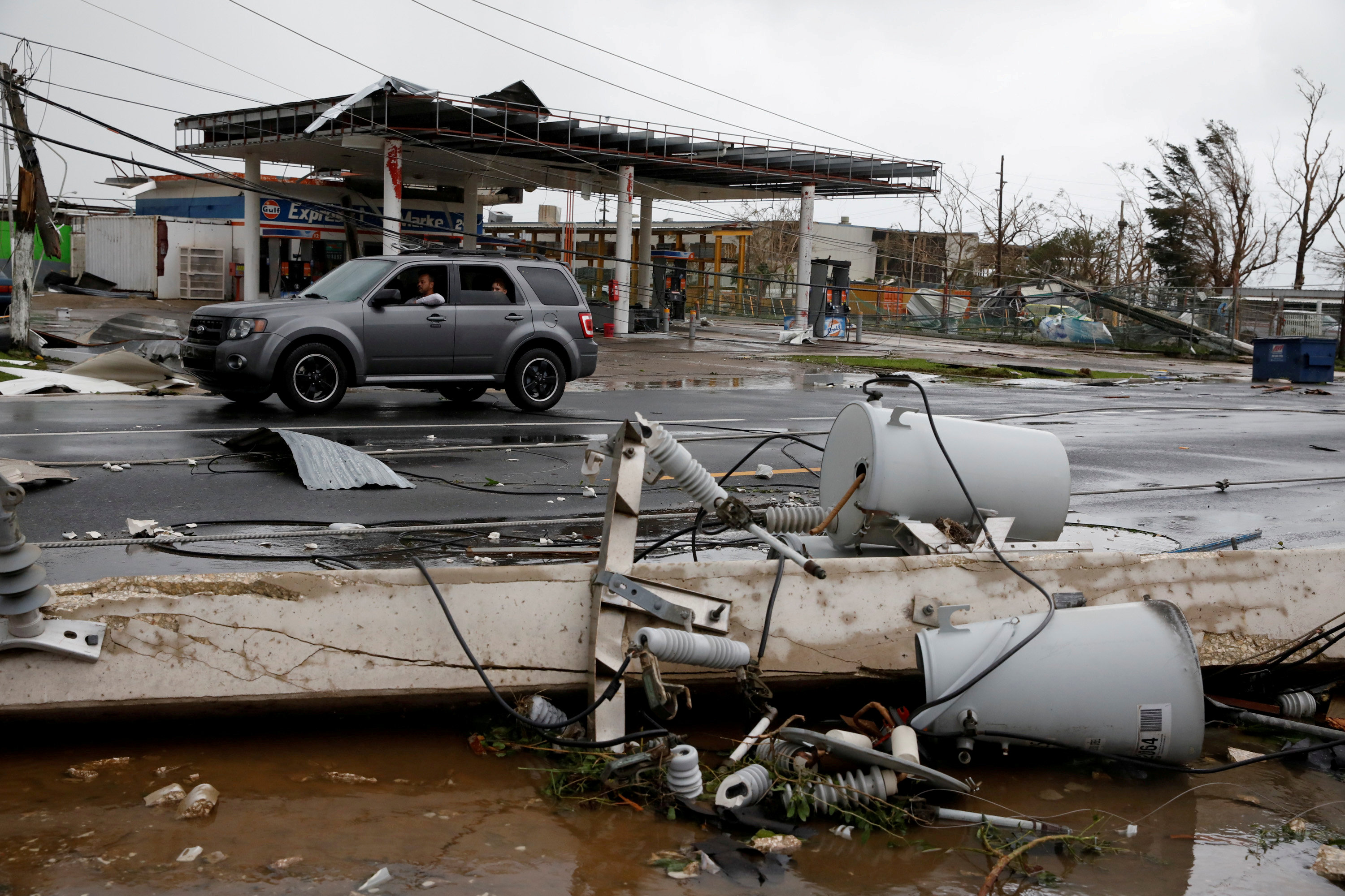 Special Report: The bankrupt utility behind Puerto Rico's power crisis