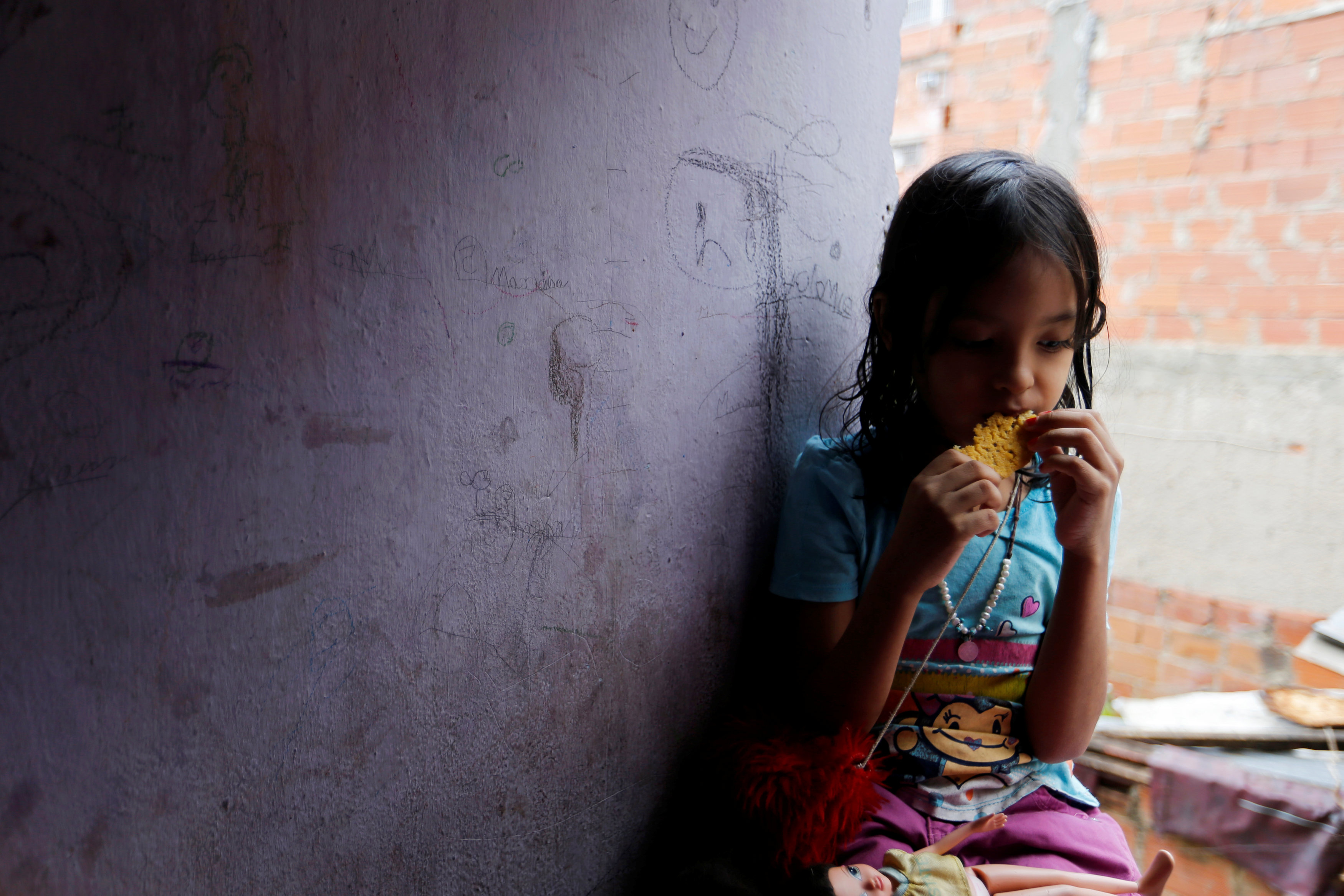 Venezuela's unrest, food scarcity take psychological toll on children