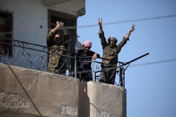 Islamic State defeated in its Syrian capital Raqqa