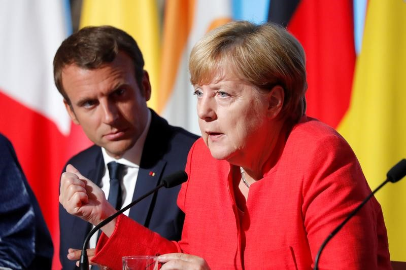 EU leaders talk up Iran nuclear deal hoping to save it from Trump