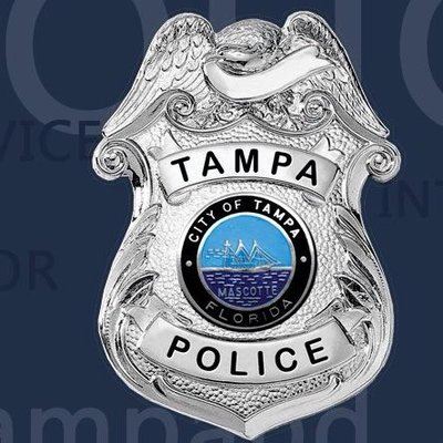 City of Tampa Police badge