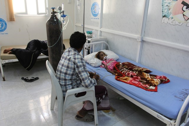 Recovering from severe malnutrition in Yemen
