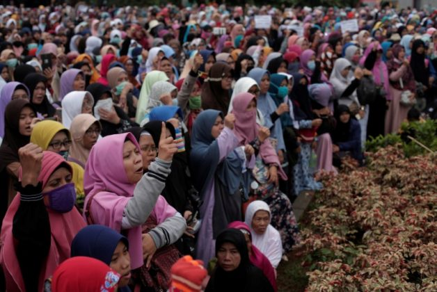 Indonesia passes law to ban organizations deemed against its ideology