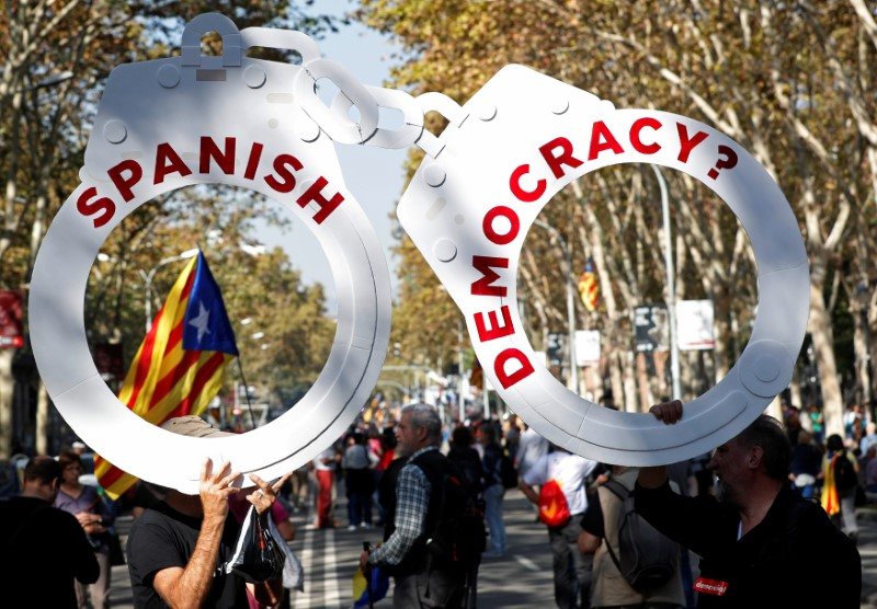 Catalonia declares independence from Spain, direct Madrid rule looms