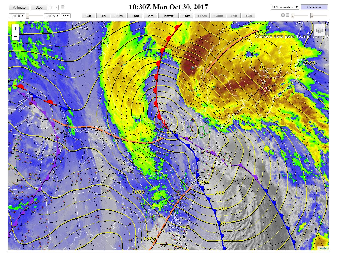 Storm Summary has been initialized for the deep low pressure system which is bringing damaging winds, heavy rain across the Northeast, even some snow over West Virginia.