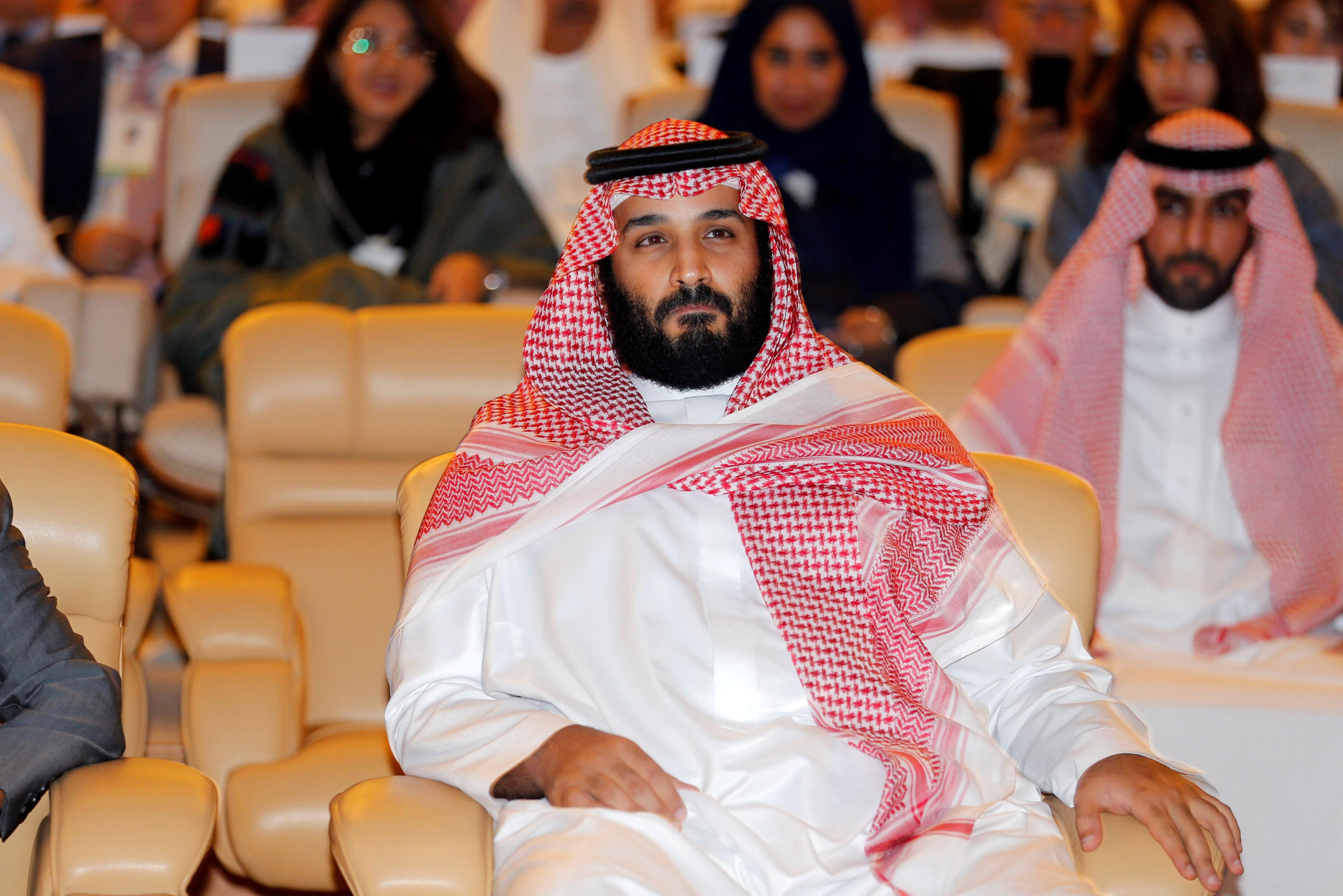 Saudi crown prince calls Iran supply of rockets 'military aggression'