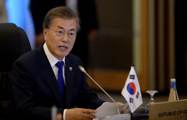 North Korea nuclear arsenal too developed to destroy quickly, says Moon